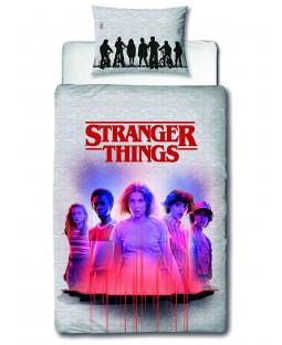 Stranger Things Darkside Single Duvet Cover and Pillowcase Set