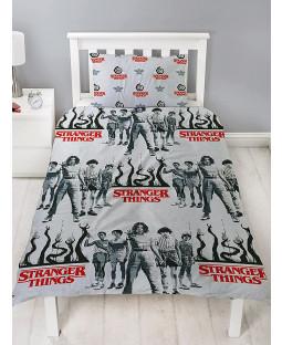 Stranger Things Darkside Single Duvet Cover Set - Rotary Design