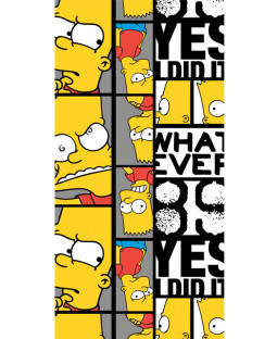 Simpsons Bart Beach Towel