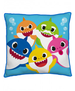 Baby Shark Family Square Cushion