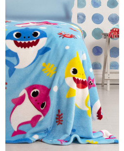 Baby Shark Fleece Blanket