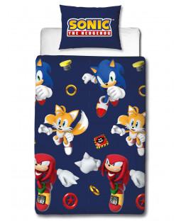 Sonic the Hedgehog Jump Single Duvet Cover Set