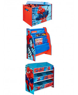 Spiderman Bedroom Furniture Storage Set