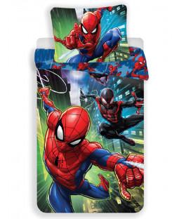 Spiderman Swing Single Cotton Duvet Cover Set