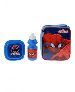 Spiderman 3 Piece Lunch Bag Set