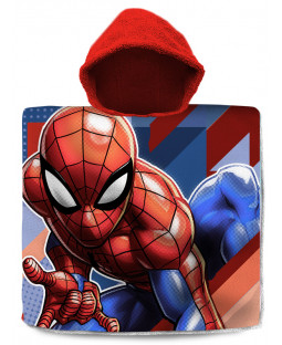 Spiderman Hooded Towel Poncho