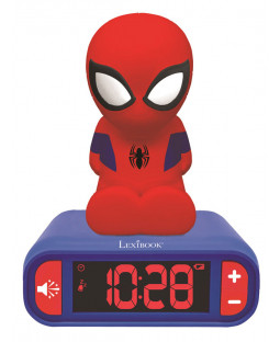 Spiderman Night Light Alarm Clock