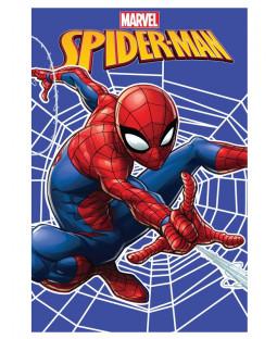Spiderman Web Fleece Blanket