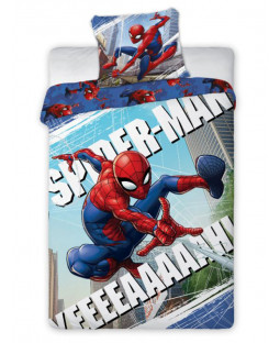 Spiderman Yeah Single Cotton Duvet Cover Set
