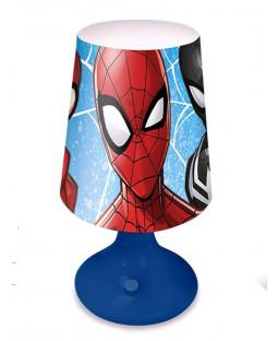 Spiderman Blue Table Lamp