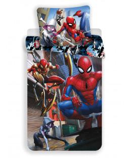 Spiderman Action Single Duvet Cover Set - European Size