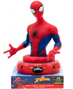 Spiderman 3D Figure Night Light Lamp