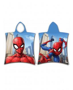 Spiderman Jump Hooded Towel Poncho