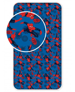Spiderman Blue Single Fitted Sheet