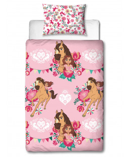 Spirit Fiesta Single Duvet Cover and Pillowcase Set