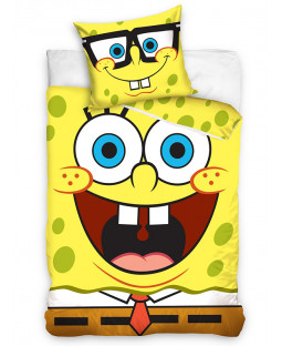 SpongeBob SquarePants Single Cotton Duvet Cover Set