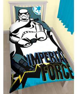 Star Wars Rebels Imperial Single Duvet Cover Bedding Set