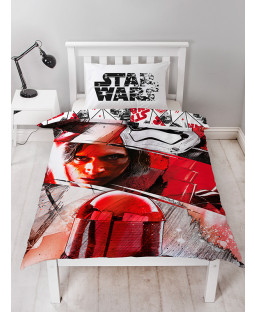 Star Wars Episode VIII Single Reversible Duvet Cover Set