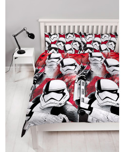Star Wars Episode VIII Trooper Double Duvet Cover Set