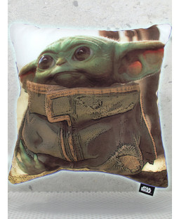Star Wars Mandalorian Baby Yoda Cushion