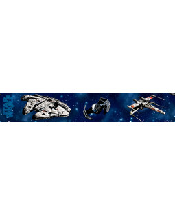 Star Wars Craft Self Adhesive Wallpaper Border 5m