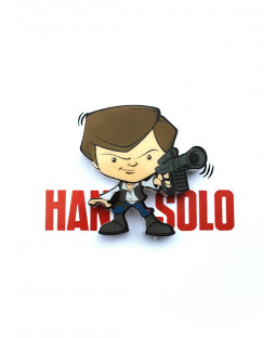 Star Wars Mini 3D LED Wall Light Han Solo