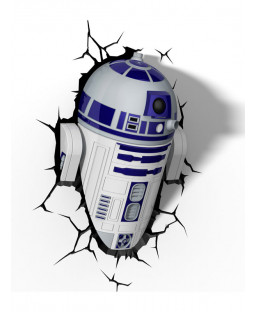 Star Wars R2-D2 3D LED Wall Light