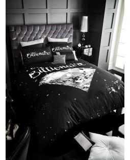 Billionaire Diamond Double Duvet Cover and Pillowcase Set
