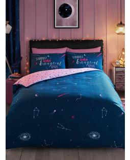 Cosmic Stardust Single Duvet Cover and Pillowcase Set