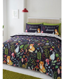 Enchanted Dreams Single Duvet Cover and Pillowcase Set