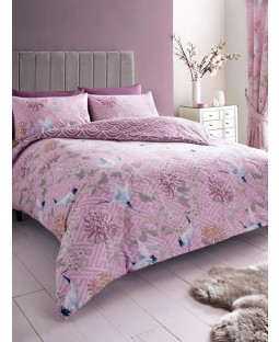 Jasmine Double Duvet Cover and Pillowcase Set