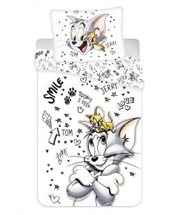 Juego de funda nórdica individual de Tom y Jerry - Tamaño europeo