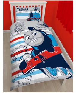 Thomas the Tank Engine Set regalo camera da letto copripiumino