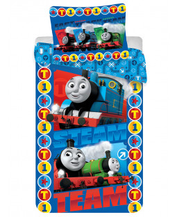 Thomas & Friends Steam Team Single Cotton Duvet Cover Set