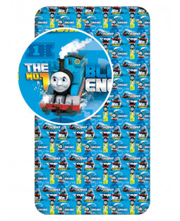Thomas and Friends Single Fitted Sheet - Blue