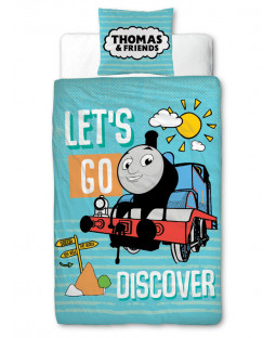 Thomas & Friends Discover 4 in 1 Junior Bedding Bundle Set
