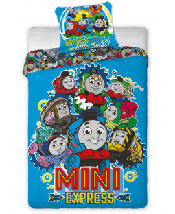 Thomas and Friends Minis Single Duvet Cover Set - European Size