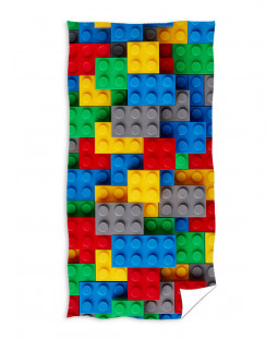 Building Blocks 100% Cotton Towel