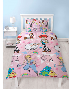 Toy Story 4 Rainbow Single Duvet Cover Set