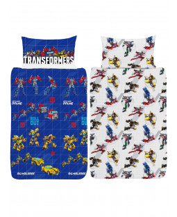 Transformers Roll Out Single Duvet Cover and Pillowcase Set