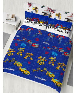 Transformers Roll Out Double Duvet Cover and Pillowcase Set