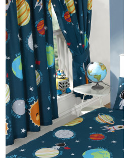 Solar System Lined Curtains
