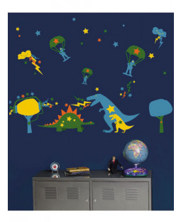 Wallies Wall Candy - Dyno Mite Wall Stickers