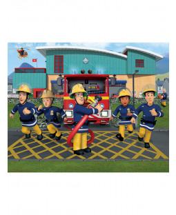 Walltastic Fireman Sam Wall Mural 2.44m x 3.05m