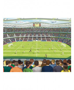 Walltastic Football Crazy Wall Mural 2.44m x 3.05m