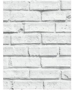 Papel pintado de ladrillo blanco - Arthouse 623004