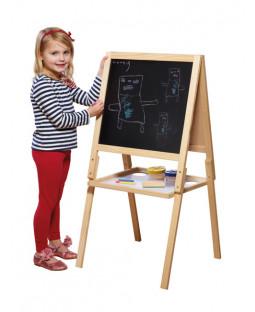 Casdon Wooden Easel Blackboard