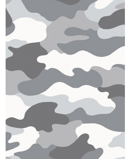 Grey Camouflage Wallpaper - WOW010