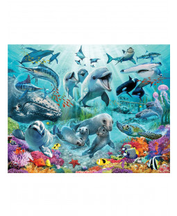 Mural de pared Walltastic Under The Sea 2.44mx 3.05m