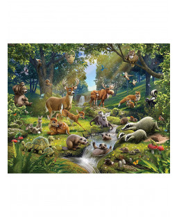 Walltastic Animals Of The Forest Wall Mural 2.44m x 3.05m
